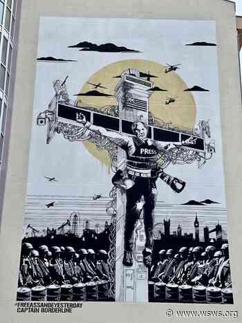 Ein Julian-Assange-Wandbild für Berlin - World Socialist Web Site - World Socialist Web Site