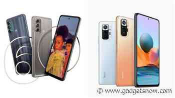 Moto G60 vs Xiaomi Redmi Note 10 Pro Max: How the primary camera and other specs of the two phones compare