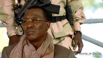 Von Rebellen erschossen?: Tschads Präsident an Front getötet