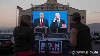 Klarer Sieger an der Börse: Biden-Boom gegen Trump-Turbo