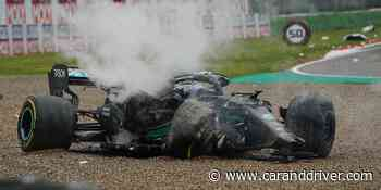Mercedes teme que el accidente de Bottas ponga en riesgo las actualizaciones del W12 - Car and Driver