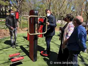 El barrio de Fuente del Oro de Cuenca ya cuenta con su nuevo circuito biosaludable para mayores - Lanza Digital - Lanza Digital