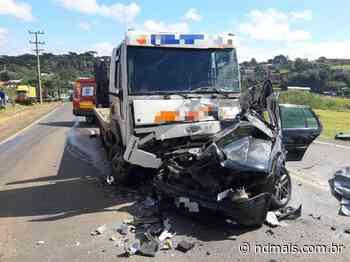 Jovem morre em grave acidente na SC-355 em Fraiburgo - ND Mais