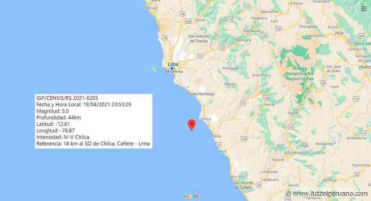 Temblor hoy en Lima: sismo de 5.0 sacudió Chilca (Cañete) el lunes 19 de abril por la noche - Futbolperuano.com