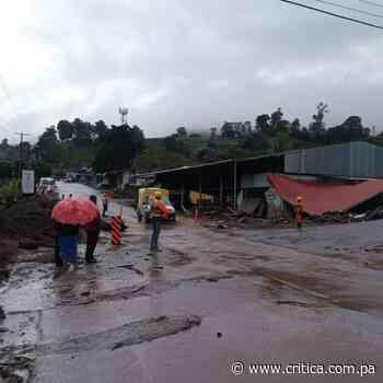 Deslizamientos en Gualaca, evacuación de familias en Cerro Punta y Volcán - Crítica Panamá