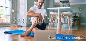 Physiotherapeut kommt virtuell ins Haus (aerztezeitung.de) - Ärzte Zeitung