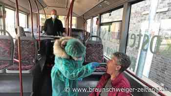 Noch kein positiver Test in Wolfenbüttels Corona-Testbus