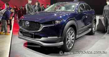 2021 Mazda CX-30 EV: Electric small SUV unveiled for China