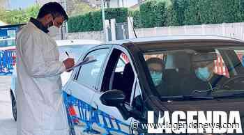 """Orbassano il primo punto vaccinale """"drive through"""" • L'Agenda News - http://www.lagendanews.com"""