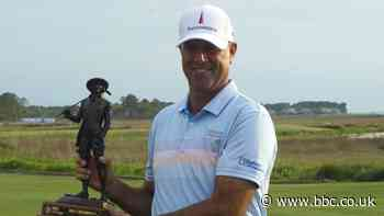 RBC Heritage: Stewart Cink wins at Harbour Town from Grillo and Varner III