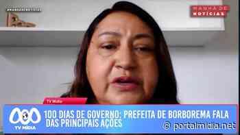 100 dias de governo: prefeita de Borborema fala das principais ações - PortalMidia