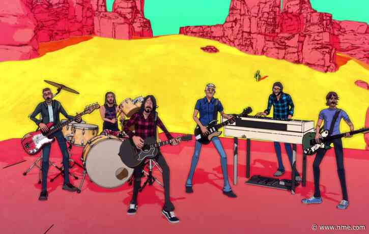 Foo Fighters mark 4/20 with trippy animated video for 'Chasing Birds'