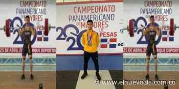 ¡Orgullo pijao! Pesista tolimense ganó oro en campeonato de República Dominicana - El Nuevo Dia (Colombia)