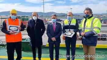 El puerto de Santander homenajea a CLdN - El Canal Marítimo y Logístico