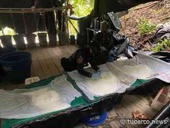 En Cumbitara encontraron un megalaboratorio de drogas que vale 12 millones de dólares - TuBarco