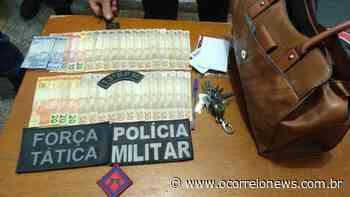 Paranaiba: Polícia Militar prende autor de roubo em rodoviária e recupera os objetos da vítima - O Correio News