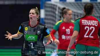 Play-off-Rückspiel: Sieg gegen Portugal: WM-Ticket für deutsche Handballerinnen