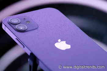 The iPhone 12 now comes in a purple color that's perfect for spring