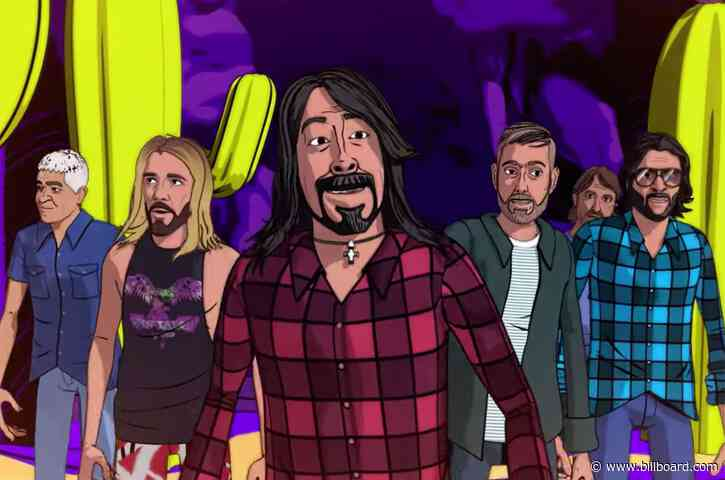 Foo Fighters Take a Desert Trip Like No Other in Twisted 'Chasing Birds' Video