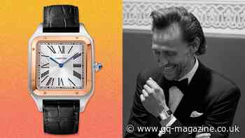 Tom Hiddleston's Cartier Santos-Dumont is a lesson in old-school elegance - British GQ