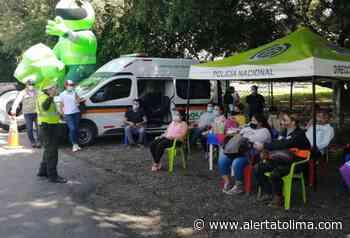 Policía y Alcaldía en Natagaima realizan campaña de prevención vial - alertatolima.com
