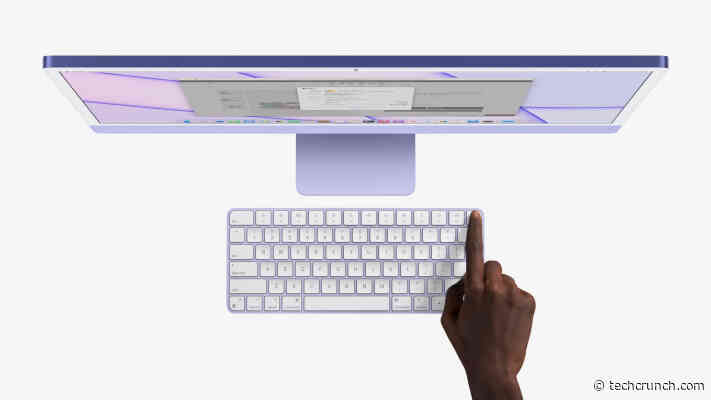 Apple brings Touch ID to the Magic Keyboard
