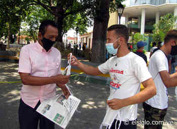 Jóvenes del PSUV se suman a campaña contra Covid-19 en Cagua elsiglocomve - Diario El Siglo