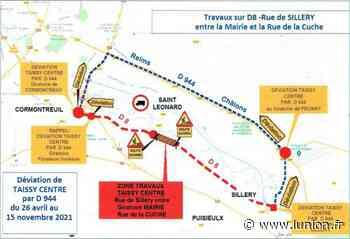Attention travaux ! La traversée de Taissy fermée au transit - L'Union
