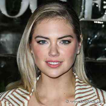 Kate Upton Almost Flashed The Camera In This Tiny Mini Dress For 'Harper's Bazaar'--We're Speechless! - SheFinds
