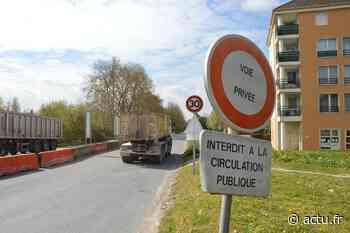 Val-d'Oise. Cormeilles-en-Parisis : le chantier avance autour de l'ex-voie privée Lambert - actu.fr