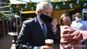 Lockerungen bleiben trotzdem: Johnson warnt Briten vor dritter Welle
