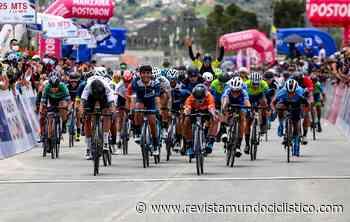 Luis Carlos Chía triunfa en un soberbio sprint en Tocancipá. Bryan Gómez nuevo líder de la Vuelta a Colombia - Revista Mundo Ciclistico