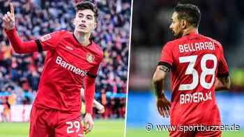 Leverkusen-Star Kai Havertz kehrt ins Mannschaftstraining zurück - Karim Bellarabi droht Saison-Aus - Sportbuzzer