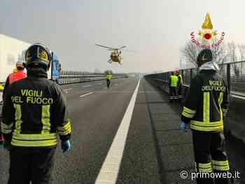 Affi, autostrada del Brennero chiusa al traffico per 1 ora per un incidente - PrimoWeb