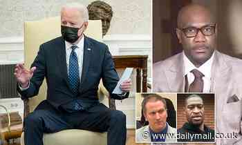 Moment Biden and Kamala call George Floyd's family after Derek Chauvin was found guilty