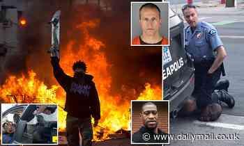 TOM LEONARD: Murder lit a touchpaper... now can the verdict end America's race turmoil?