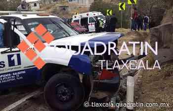 7 lesionados deja encontronazo en la carretera Tlaxco-Chignahuapan 18:53 TLAXCALA, Tlax., 21 de marzo - Quadratín Tlaxcala