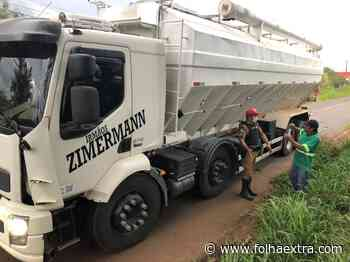 Caminhão atinge jovem e cavalo em Siqueira Campos - Folha Extra