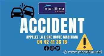Accident sur l'A55 au niveau de Gignac - Gignac la Nerthe - Info route - Maritima.info
