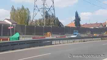 Essonne : le nouveau mur antibruit bientôt fini à Champlan - Le Parisien