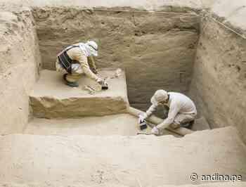 Trujillo: resaltan avances en trabajos de investigación arqueológica en la huaca Takaynamo - Agencia Andina