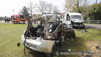 À Boubiers (Oise), près de Chaumont-en-Vexin, une collision fait deux morts et deux blessés graves - Courrier Picard