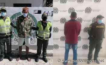 Dos capturados en Dibulla durante operativos de la Policía - Diario del Norte.net