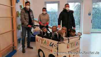 Im Kita-Bus die Welt entdecken: Lions Olsberg-Bestwig unterstützen Anschaffung - sauerlandkurier.de
