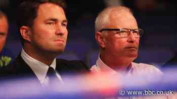 Barry Hearn replaced by son Eddie as chairman of Matchroom