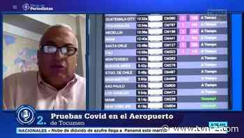 Aeropuerto de Tocumen aplicará pruebas moleculares a viajeros - TVN Panamá