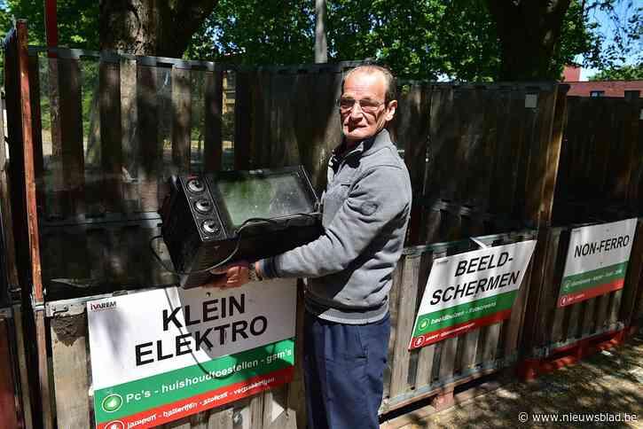 Breng even geen kringloopgoederen naar de recyclageparken
