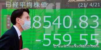 Asian markets slump on worsening coronavirus outbreaks - MarketWatch