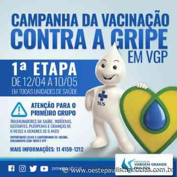 Vacina contra a gripe em Vargem Grande Paulista: veja as datas e o público-alvo da campanha - Portal Oeste Paulista