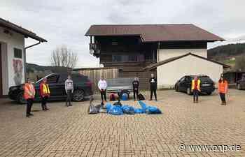 Kirchaitnacher Firmlinge trafen sich zu Pandemie-Ramadama - Passauer Neue Presse